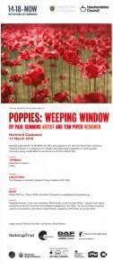 Poppy invite