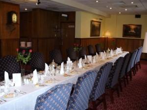 UJ Club RB Lounge banquet table