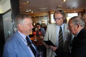 L to R - Michael Blott; Tim Dowse; Richard Blott